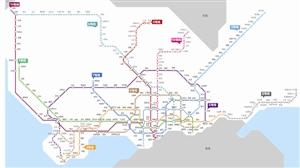 深圳市轨道交通线路网络图 - 轨道交通、地铁、高铁 - 轨道交通、地铁(轻轨)、有轨电车、高铁