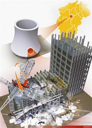 具体是由河北亿能烟塔工程有限公司负责的d标段工程