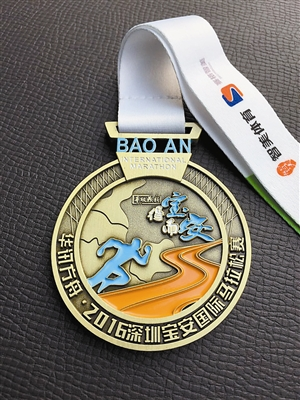 宝安马拉松奖牌 正式公布!